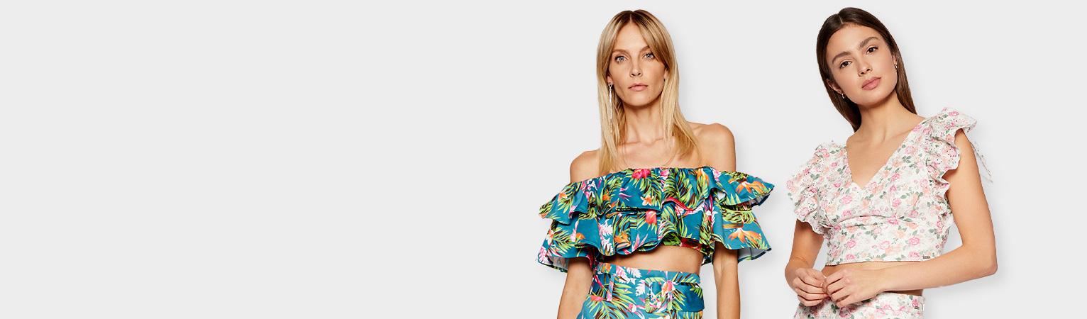 Kwiatowe wzory Najnowsze trendy w świecie mody