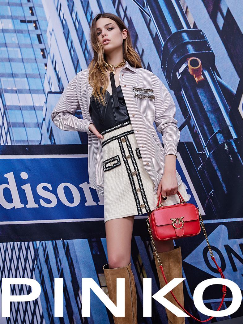 Ubierz się z PINKO i uzupełnij garderobę o top trendy na sezon wiosna-lato 2021!
