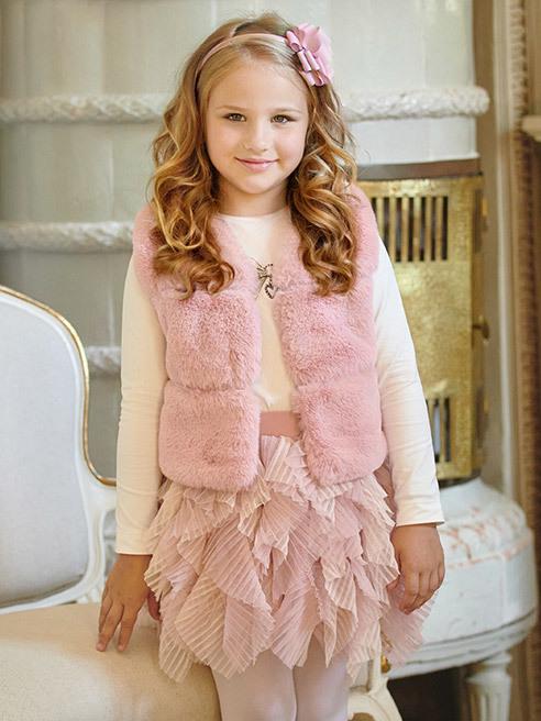 Rozprávkové sukne pre dievčatá LaVashka