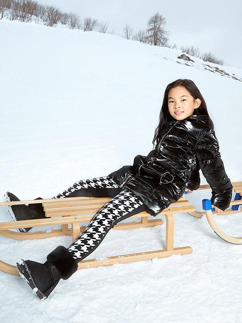 Pour les petits qui adorent l'hiver Guess