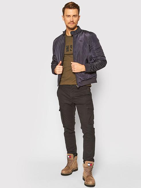 Мъжки стил Панталони от плат