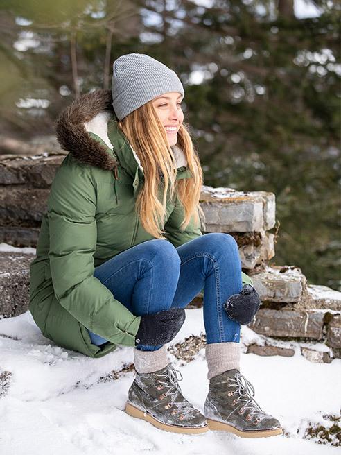 Зимни предизвикателства в модерен вариант Roxy