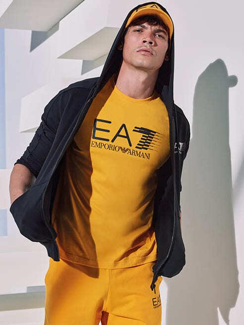 Рухайся вільно і роби те що Тобі подобається EA7 Emporio Armani