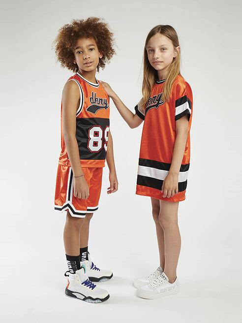 Moda sportivă pentru copiii activi DKNY