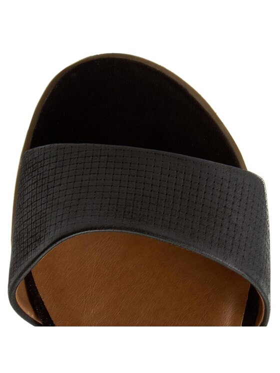 Caprice Caprice Sandały 9-28600-28 Czarny