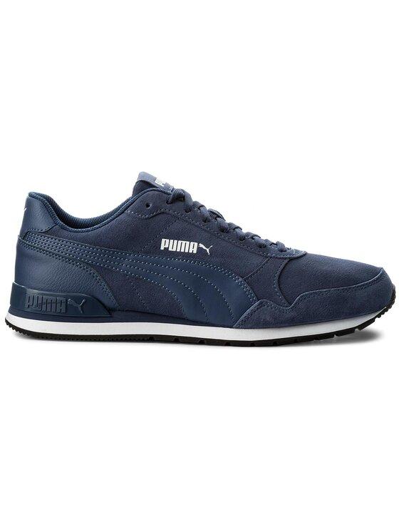 Puma Puma Sneakersy St Runner v2 Sd 365279 02 Granatowy