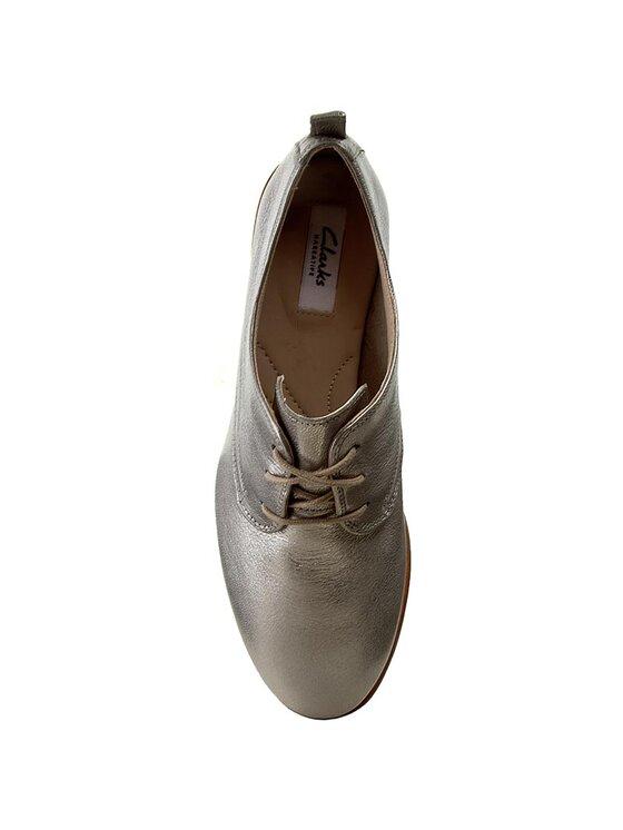 Clarks Clarks Oxford cipők Alania Posey 261258594 Ezüst