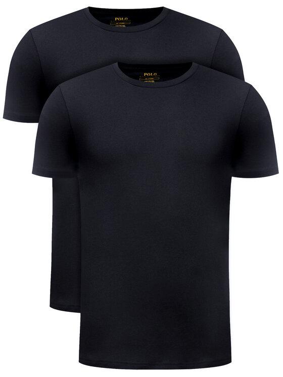 Polo Ralph Lauren 2 marškinėlių komplektas 714513432 Juoda Slim Fit