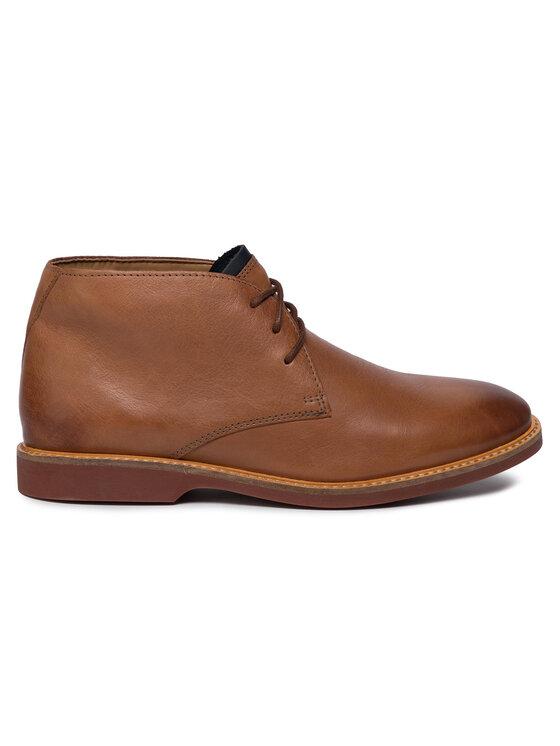 Clarks Clarks Boots Atticus Limit 261367407 Marron