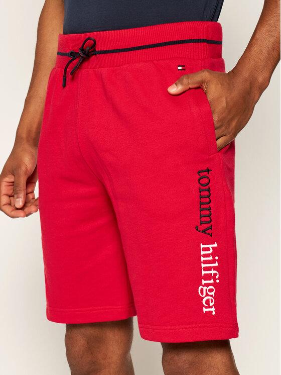 TOMMY HILFIGER TOMMY HILFIGER Sportshorts UM0UM01767 Rot Regular Fit