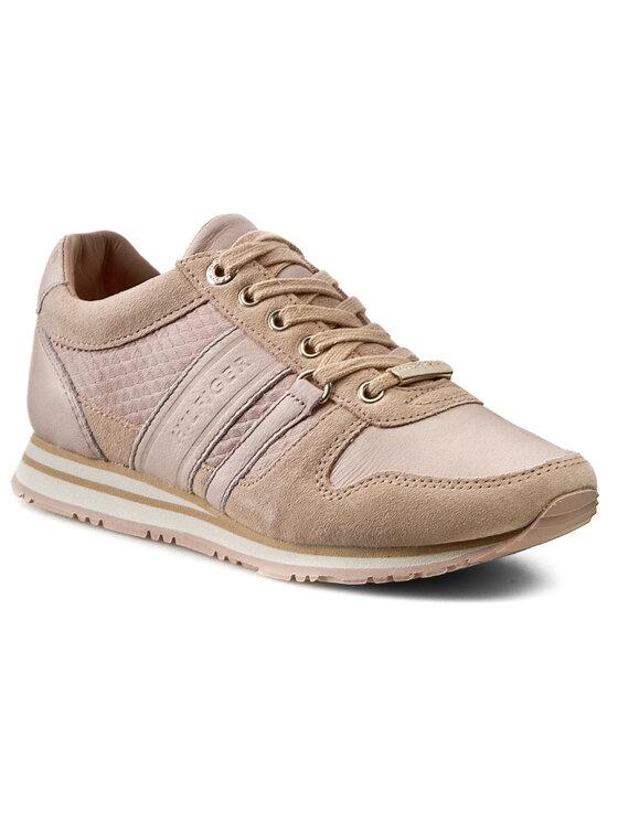 Tommy Hilfiger Tommy Hilfiger Laisvalaikio batai Maxine 1A FW56818769 Rožinė