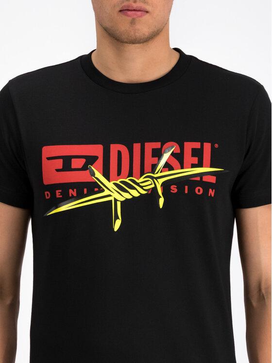 Diesel Diesel Тишърт T-Diego-BX2 00S014 0EAXG Черен Regular Fit
