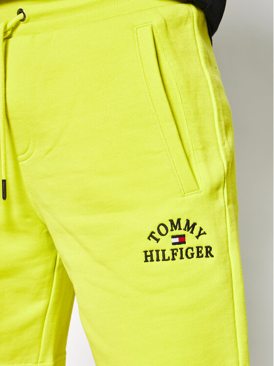 TOMMY HILFIGER TOMMY HILFIGER Sportshorts Basic Embroidery MW0MW12310 Grün Regular Fit