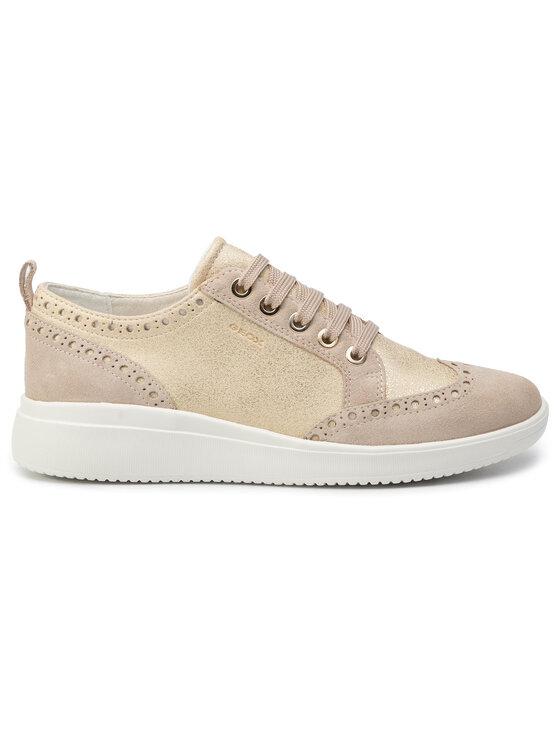 Geox Geox Sneakers D Tahina B D92BDB 0CD22 C2LH6 Oro