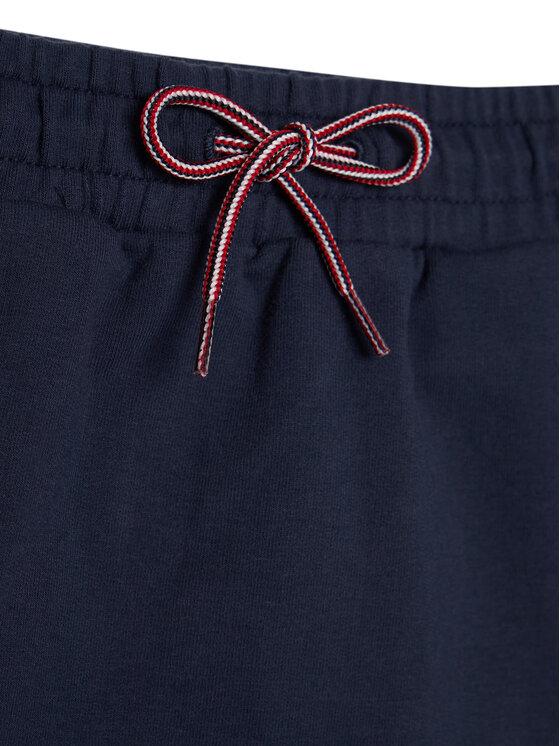 TOMMY HILFIGER TOMMY HILFIGER Sukně Essential Knit KG0KG05325 M Tmavomodrá Regular Fit