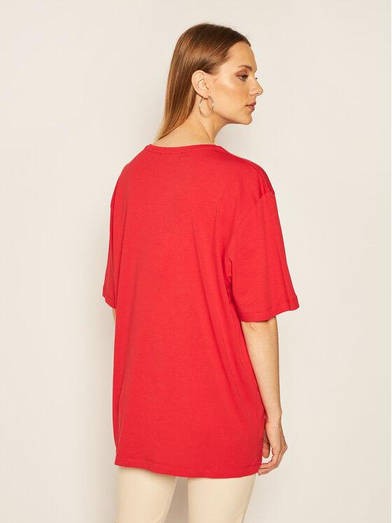 LOVE MOSCHINO LOVE MOSCHINO T-Shirt W4F8736M 3876 Červená Regular Fit
