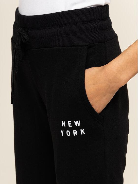 DKNY Sport DKNY Sport Παντελόνι φόρμας DP9P2229 Μαύρο Regular Fit