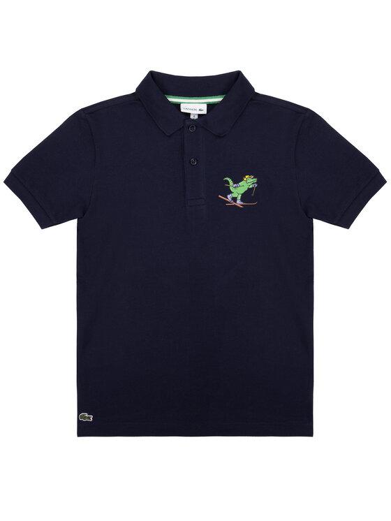 Lacoste Lacoste Polohemd PJ8355 Dunkelblau Regular Fit