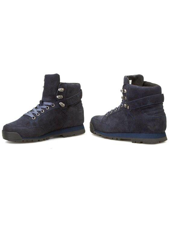 Armani Jeans Armani Jeans Šnurovacia obuv B6567 97 L8 Tmavomodrá