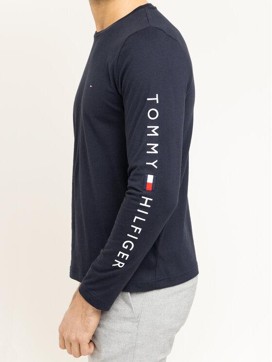 Tommy Hilfiger Tommy Hilfiger Hosszú ujjú Logo MW0MW12514 Sötétkék Regular Fit