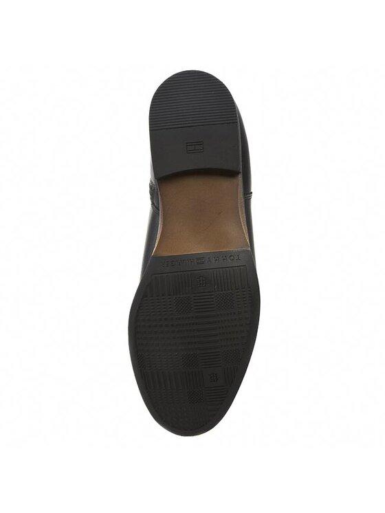 Tommy Hilfiger Tommy Hilfiger Členková obuv Billie 10A FW56817612 Čierna