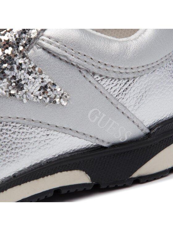 Guess Guess Sneakers Litzy FI5LIT ELE12 Argent