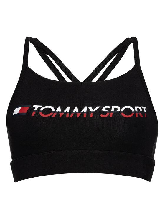 Tommy Sport Tommy Sport Reggiseno top Low Impact S10S100046 Nero