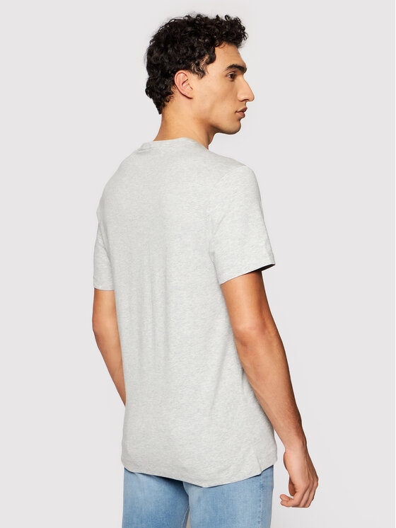 Guess Guess T-Shirt M92I33 J1300 Šedá Super Slim Fit