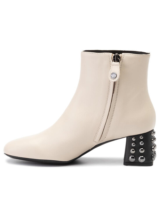 Geox Geox Členková obuv D Seyla C D928VC 00043 C5002 Béžová