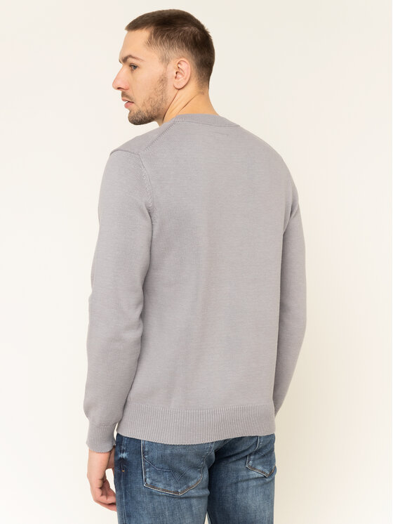 Pepe Jeans Pepe Jeans Pulover Gabriel PM701973 Gri Regular Fit
