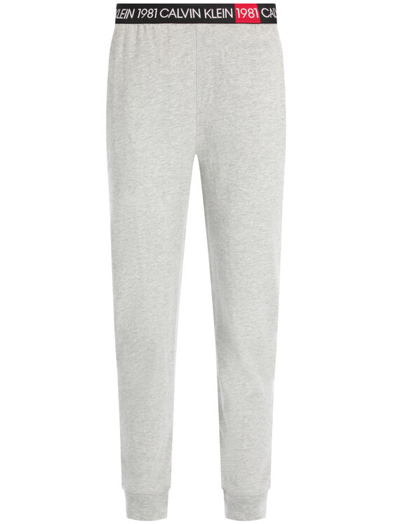Calvin Klein Underwear Calvin Klein Underwear Долнище анцуг 000QS6311E Сив Regular Fit