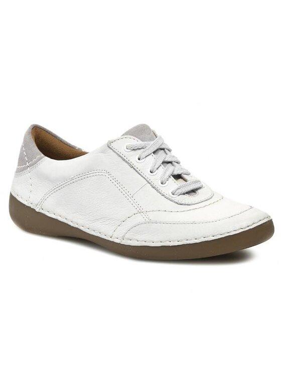 Clarks Clarks Félcipő Fashion Glitz 203580314 Fehér