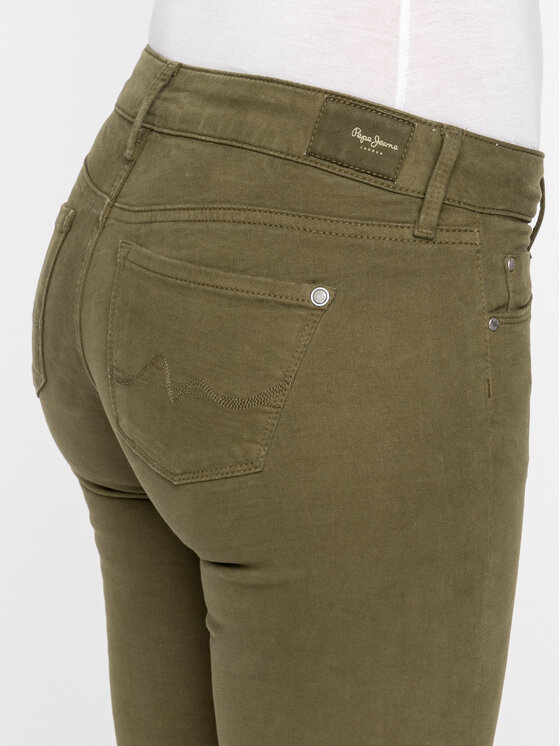 Pepe Jeans Pepe Jeans Jeans Soho PL210804 Grün Skinny Fit