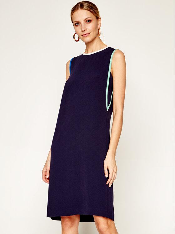 Laurèl Kasdieninė suknelė 11023 Tamsiai mėlyna Regular Fit