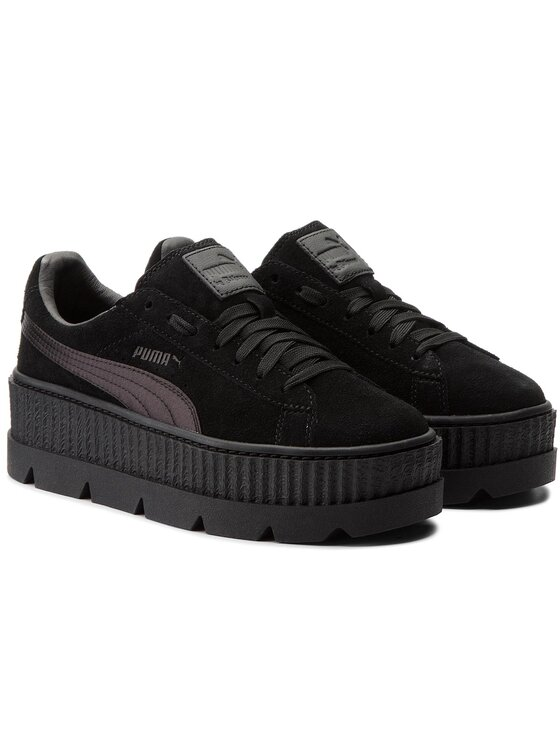 Puma Puma Sneakersy Cleated CreeperSuede 366268 04 Czarny
