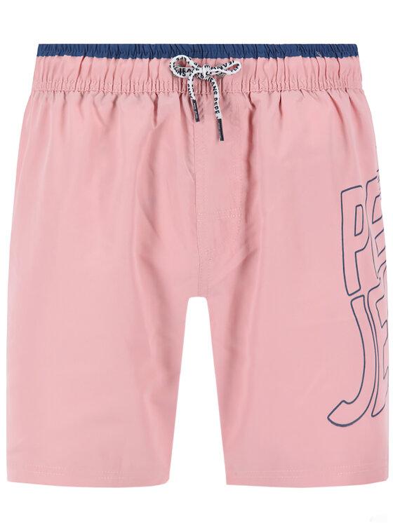 Pepe Jeans Pepe Jeans Plavecké šortky Fin PMB10243 Růžová Regular Fit