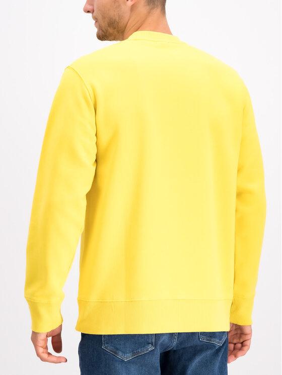 Napapijri Napapijri Bluza Buena N0YHUB Żółty Loose Fit