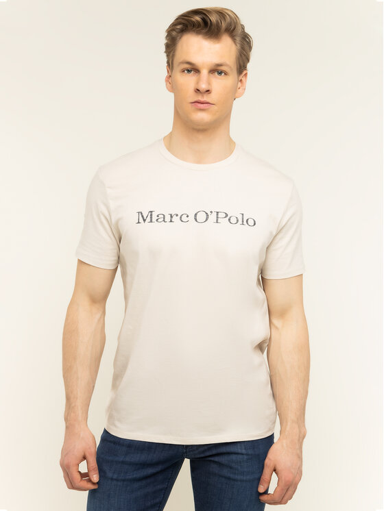 Marc O'Polo Marc O'Polo T-Shirt 021 2220 51230 Beżowy Regular Fit