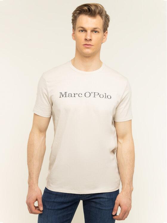 Marc O'Polo Marc O'Polo Tričko 021 2220 51230 Béžová Regular Fit