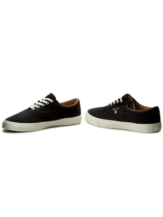Gant Gant Πάνινα παπούτσια Hero 14638606 Μαύρο