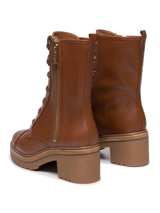 MICHAEL Michael Kors MICHAEL Michael Kors Tronchetti Anaka Bootie 40F9ANME5L Marrone