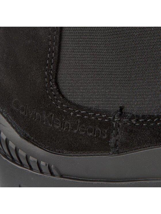 Calvin Klein Jeans Calvin Klein Jeans Боти тип челси Hugo S0408 Черен