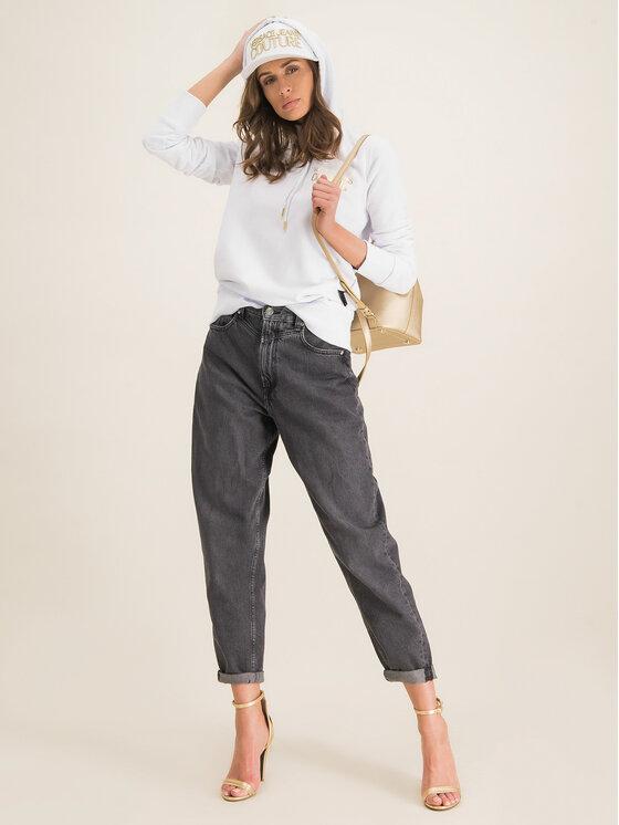 Versace Jeans Couture Versace Jeans Couture Mikina B6HVA778 Biela Regular Fit