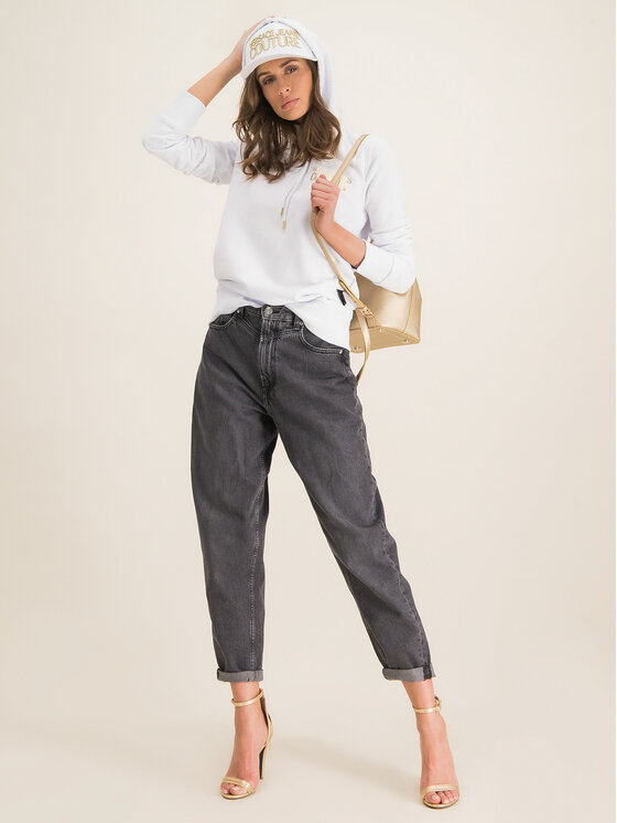 Versace Jeans Couture Versace Jeans Couture Pulóver B6HVA778 Fehér Regular Fit