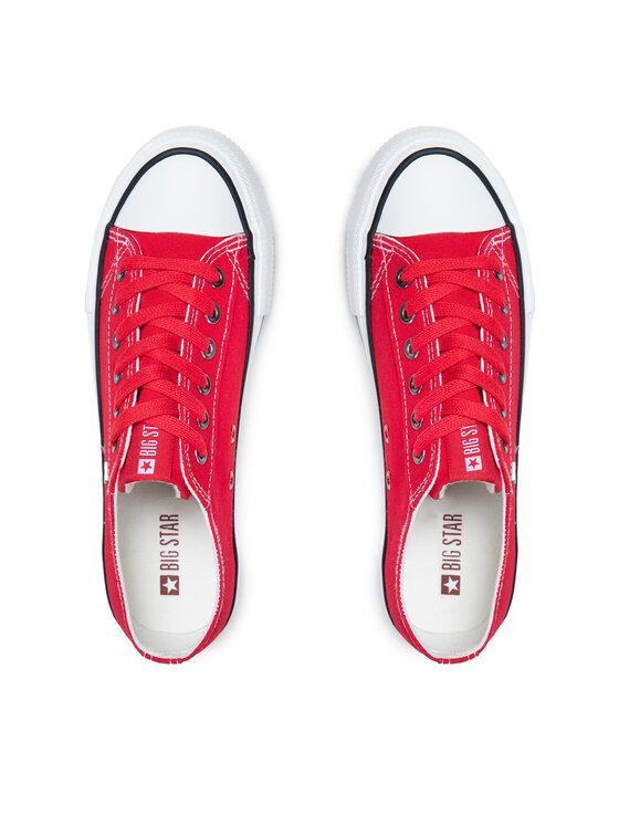 BIG STAR BIG STAR Sneakers aus Stoff DD274A234R36 Rot