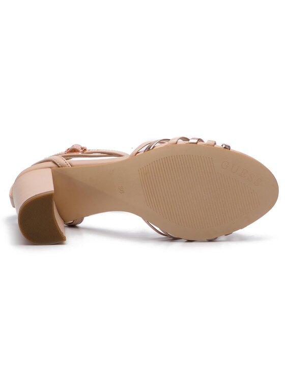 Guess Guess Sandały Madesta2 FL6MD2 LEA03 Różowy