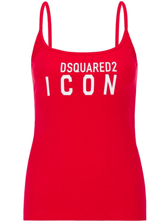 Dsquared2 Underwear Dsquared2 Underwear Top D8D903080 Rouge Slim Fit