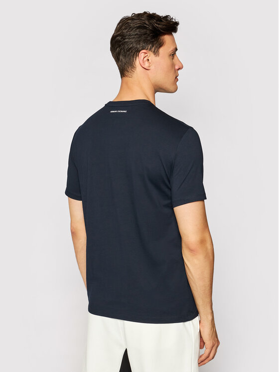 Armani Exchange Armani Exchange T-Shirt 8NZTCK Z8H4Z 1510 Dunkelblau Slim Fit