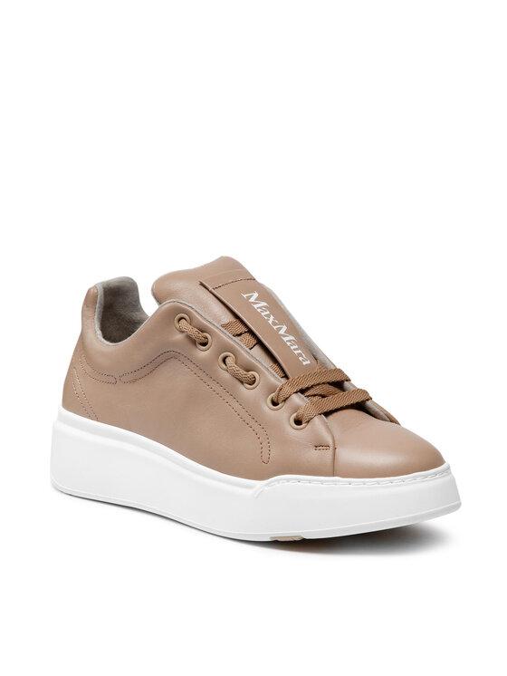 Max Mara Laisvalaikio batai Maxiv 47660917600 Smėlio