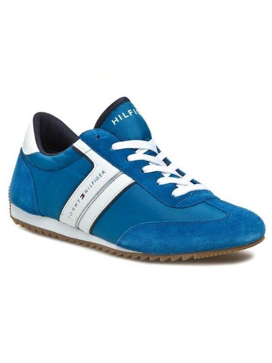 TOMMY HILFIGER TOMMY HILFIGER Sneakersy FM56816957 Modrá